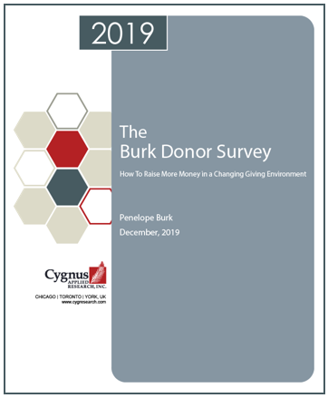 Burk Donor Survey